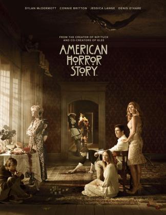 Cartel de la primera temporada de American Horror Story.