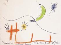 'Miró, esperit salvatge' es una exposición de obras de Joan Miró.