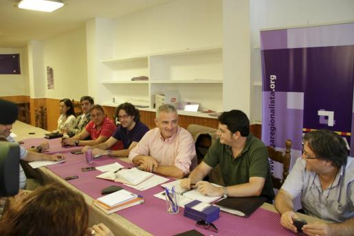 La junta de la Lliga Regionalista se ha reunido hoy.