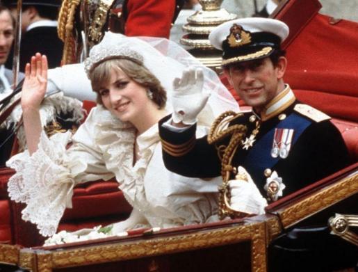 La boda de Diana de Gales y el príncipe Carlos de Inglaterra fue considerada en su momento como un 'cuento de hadas'.