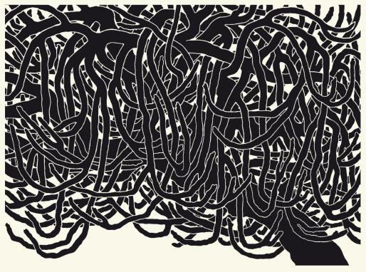 La obra gráfica de Andreu Maimó protagoniza esta muestra en el Museu i Fons artístic de Porreres.