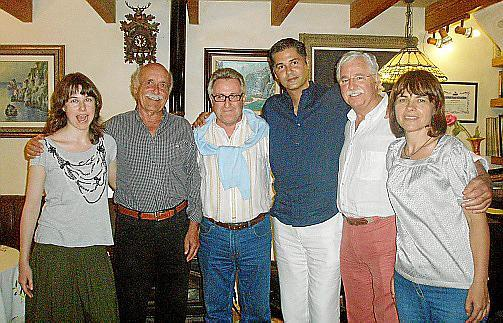 Jade Martínez, Bartomeu Salom, Cristhian Roche, Felipe Campuzano, Llorenç Fluxá e Ingrid Wounica.