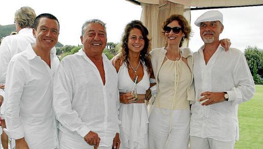 Jaime Colomar, Pepe Oliver, Vianca Landolfi, Natasha Zupan y Paco Carvajal.