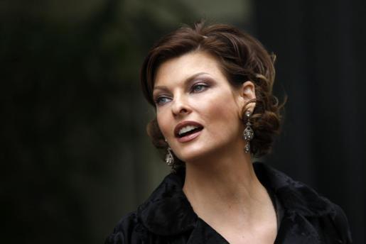 Linda Evangelista, conocida por ser una de las 'top model' de los años 90.