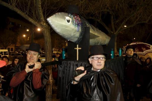 palma entierro de la sardina lluis sitjar foto miquel a. cañellas