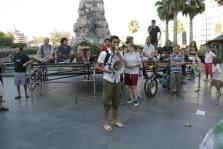 PALMA LOCAL CONCENTRACION INDIGNADOS EN PLAZA ESPAÑA FOTO JOAN TORRES
