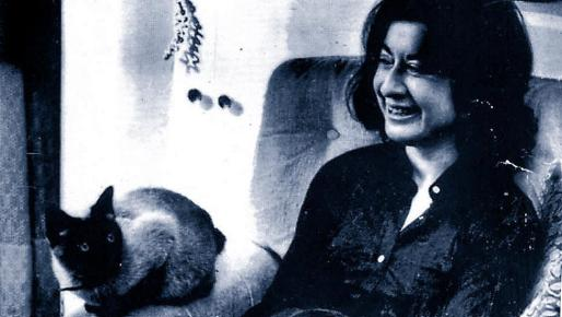 La escritora Concha Alòs, que falleció el lunes en Barcelona.