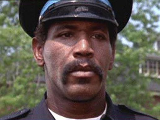 Imagen del actor Bubba Smith, uno de los actores de la película 'Loca academia de Policía'.