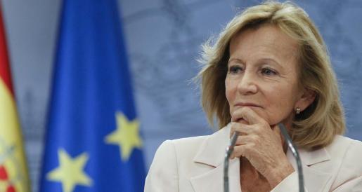 La vicepresidenta económica y ministra de Economía y Hacienda, Elena Salgado.