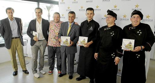 Óscar González, Mario Sandoval, Alberto Chicote, Fabio Calabresse, Juan Carlos Clemente, César Fernández y Honorato Espinar.