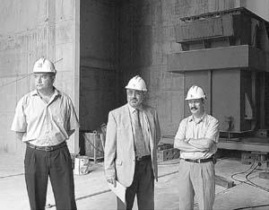 GESA-ENDESA colocó el primero de los transformadores de potencia en la subestación Nuredduna. Foto: JAUME MOREY