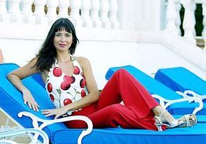 Minerva Piquero será la presentadora de la gala de Miss Balears 2001. Foto: JULIÁN AGUIRRE