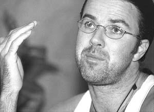 Pau Donés en una imagen tomada en 1999, poco antes de un concierto en Palma.