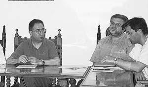Josep Maria Pons (a la derecha) sigue gestionando el área de Recursos Humans.
