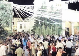 Los participantes salieron de Cort y llegaron al Monastir de la Real. Foto: SEBASTIÀ AMENGUAL