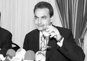 José Luis Rodríguez Zapatero opinó que la sociedad no quiere insultos, sino una respuesta adecuada del Estado de Derecho.