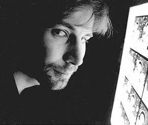 Àlex Fito, en la imagen que preside su retrospectiva.