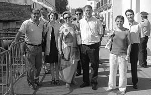 En la comitiva que visitó la Fira de Son Macià no hubo ningún concejal del PSOE.  Foto: MARGALIDA FUSTER