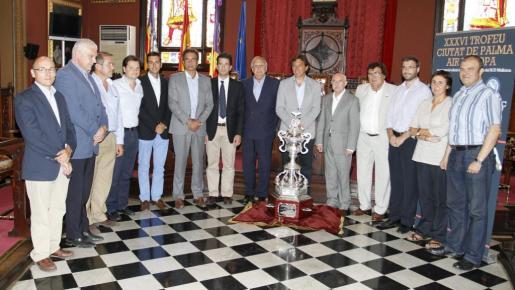 Imagen de la presentación del Ciutat de Palma en Cort.