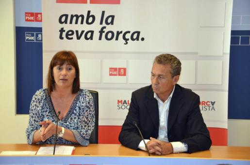 Jaume Garau y Francina Armengol, en una imagen de archivo.