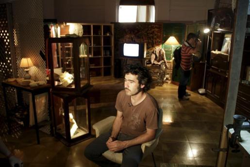 Carles Gispert, en una reciente imagen en la capilla de la Misericòrdia.