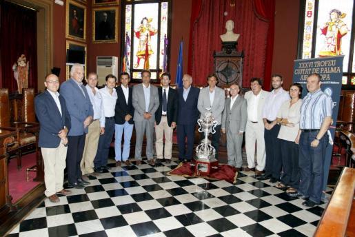Imagen de la presentación del Trofeu Ciutat de Palma.