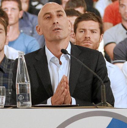 Luis Rubiales, en una imagen captada la semana pasada.