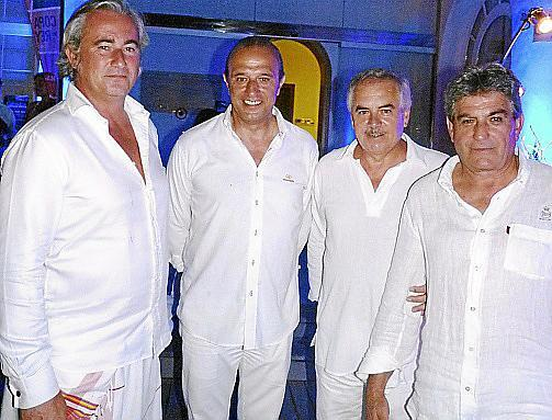 Àngel Rodríguez Carreño, Teófilo Domínguez, Andrés Jiménez y el director general de Mapfre, Julián Jaraiz.