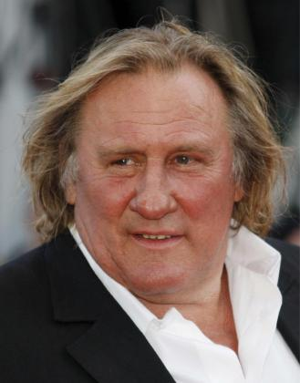 El actor francés Gerard Depardieu.