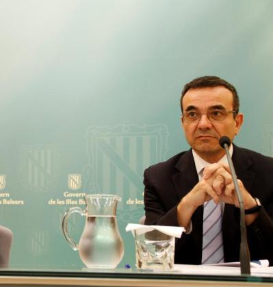 El vicepresidente económico, de Promoción Empresarial y de Ocupación, Josep Ignaci Aguiló.