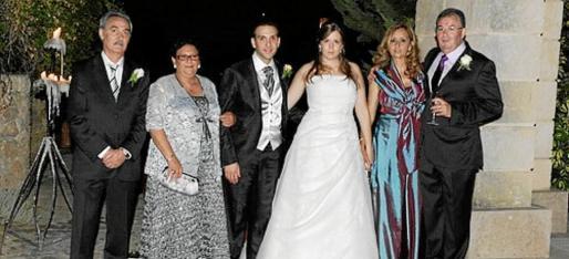 José López, Francisca Ramis, Iván López Ramis, Francisca Font Martorell, Leonor Martorell Mas y Jaime Font Oliver.