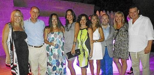 Isabel Bonnín, Manuel Bordoy, Soledad Bescos, Àngels Mercer, Raquel Arañón, Paula Fuster, Tommy Ferragut, Fanny Bosch y Francisco Neckelmann.