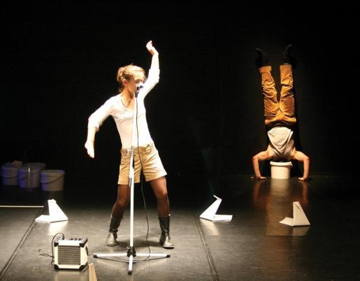 El espectáculo abarca aspectos de distintas disciplinas artísticas contemporáneas.