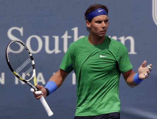 Imagen del número dos del tenis, Rafa Nadal.