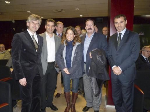 Pedro Àlvarez, Gabriel Company, Susana Deyá, Bernardí Seguí y José Manuel Barquero.