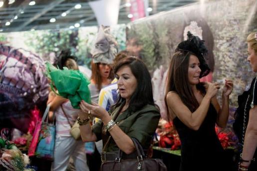 Imagen de uno de los stands del Salón Internacional de la Moda de Madrid en su edición de febrero de este año.