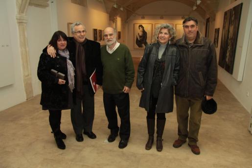 Maria Carbonero, Guillem Frontera, Lluís Plantalamor, Cristina Andreu y Francesc Isbert.