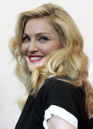 Madonna, a su llegada al festival de Venecia, donde presenta su segundo filme como directora.