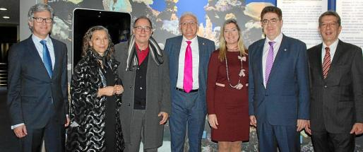 Ramón García, Rosa María Hernández, Juli Fuster, Guillem Roser, Patricia Gómez, Antoni Bennàssar y Antoni Real.