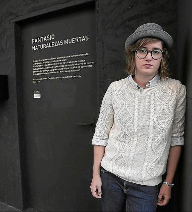 Natalia Fariñas, ganadora del Art Jove d'Arts Visuals.