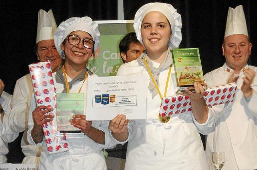El equipo menorquín, compuesto por Cristina y Ángela, se alzó con el premio.