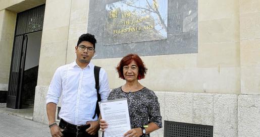 Aligi Molina y Nina Parrón presentaron la denuncia ante Fiscalía en julio de 2016.