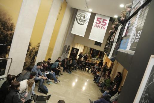 Ca n'Alcover albergó este miércoles la reunión para la organización de actos de apoyo a Valtonyc.