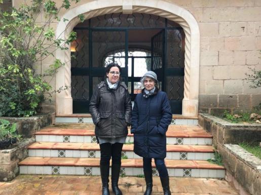 La consellera de Bienestar y Derechos Sociales y presidenta del IMAS, Margalida Puigserver, ha visitado este jueves la finca.