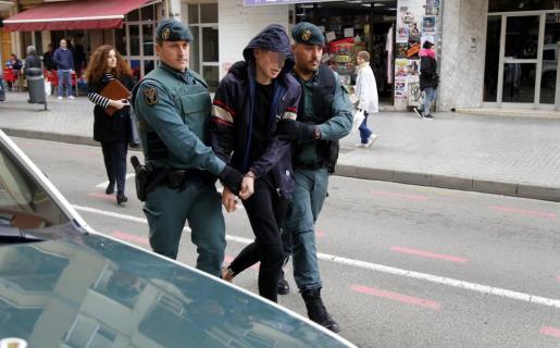 Los dos fugados fueron detenidos hace unas semanas en Son Gotleu.