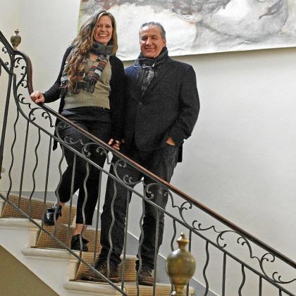 Anja Sánchez-Rodrigo y su marido Nando Pons son los promotores y propietarios del Grupo Ses Bruixes con el que están liderando varios proyectos.