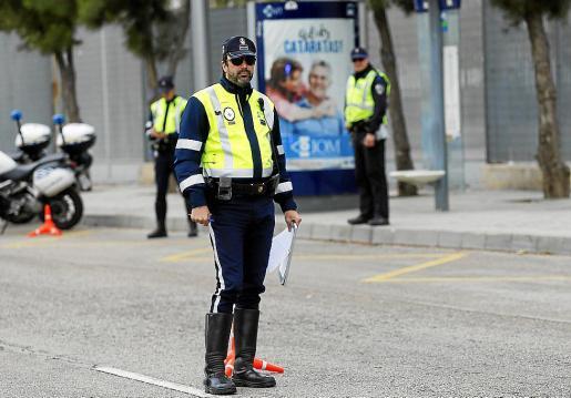 La Policía Local de Palma detuvo al presunto agresor.