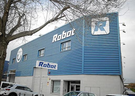 La sede de Robot SA está ubicada en el polígono de Son Rossinyol, de Palma.