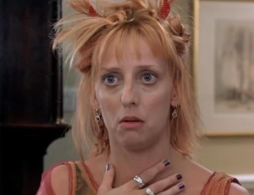 Imagen de la actriz Emma Chambers en la película 'Notting Hill'.