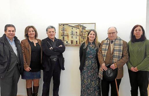 Antoni Sansó, Fanny Tur, Andreu Carles López, Amanda Corral, Joan Oliver Maneu y Gloria Escudero.